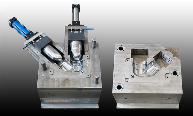 Injection molds for pvc pipe fittings and connectors